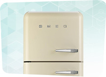 Retro køleskabe