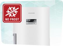 Køle-fryseskabe med NoFrost